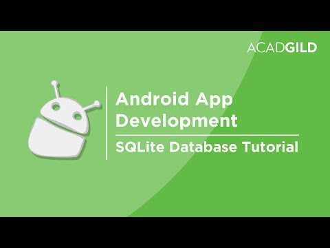 SQLite Database Tutorial | SQLite Android Tutorial | SQLite Database in Android Studio