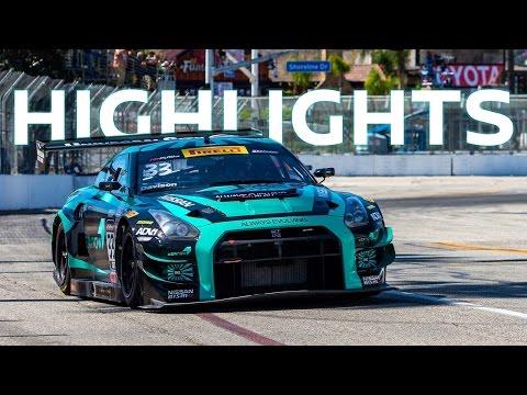 Pirelli World Challenge Highlights - 2016 Long Beach - GT-R GT3 Always Evolving