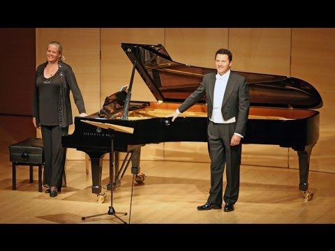 """Robert Schumann (1810-1856): """"Dichterliebe"""" opus 48 - Piotr Beczala, Tenor/Kristin Okerlund, Klavier"""