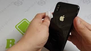 Заднее стекло iPhone Xs - Большой обзор