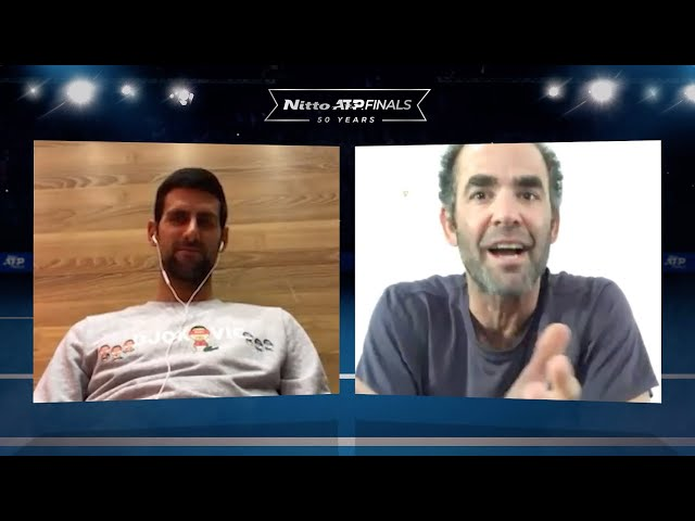 CHAMPIONS CHAT | Pete Sampras & Novak Djokovic