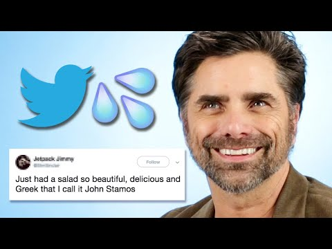 John Stamos Reads Thirst Tweets