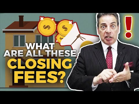 (Mortgage) Closing Costs [Mortgage Loans] How much are loan fees?