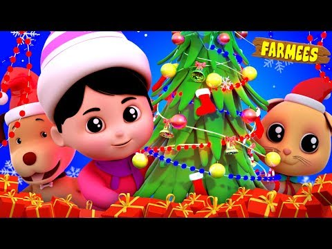 We Wish You A Merry Christmas | Christmas Song |Nursery Rhymes | Xmas Videos For Children by Farmees