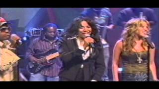 Patti LaBelle, Atiba, George Clinton (and others) - We are family LIVE