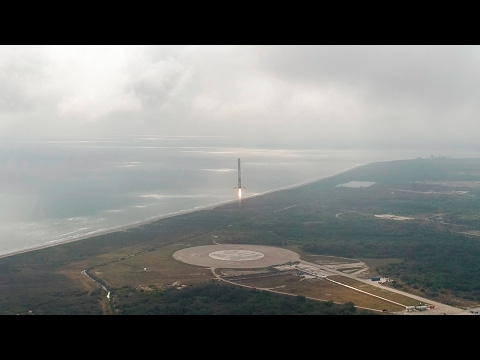 CRS-10 | Falcon 9 First Stage Landing