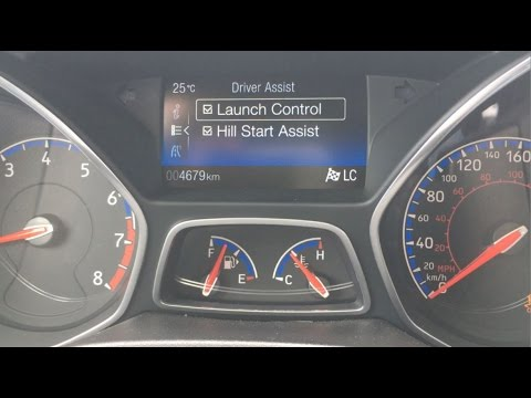 2016 Ford Focus RS -  Launch Control and 0-60mph / 0-100kmh!