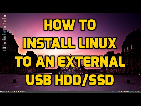 How To Install Linux to an External USB SSD or HDD