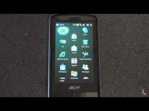 Acer beTouch E200 Hardware and Software