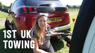 1st Time Towing In UK & Made A Mistake