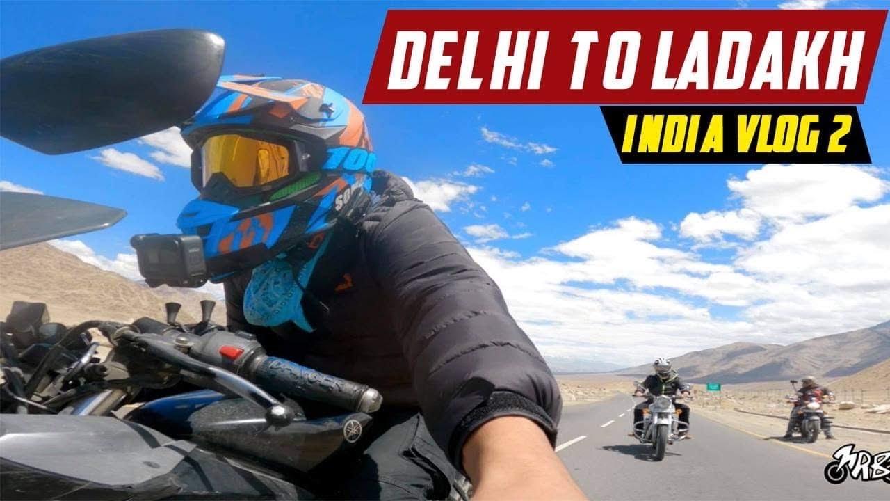 Ride to Ladakh Magnetic Hill    MRB Vlogs