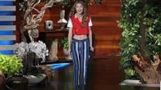 The Gorgeous Gigi Hadid's Ellen Debut!