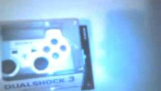 unboxing two dualshocks and game collection