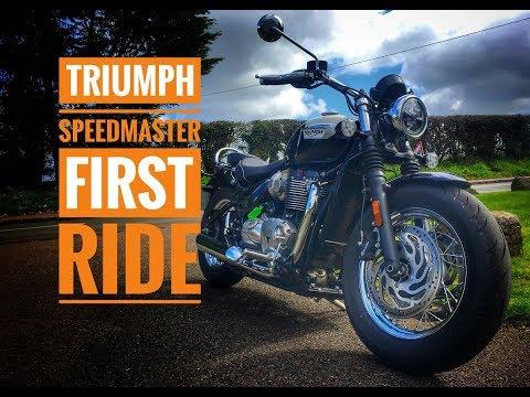 2018 Triumph Speedmaster Review