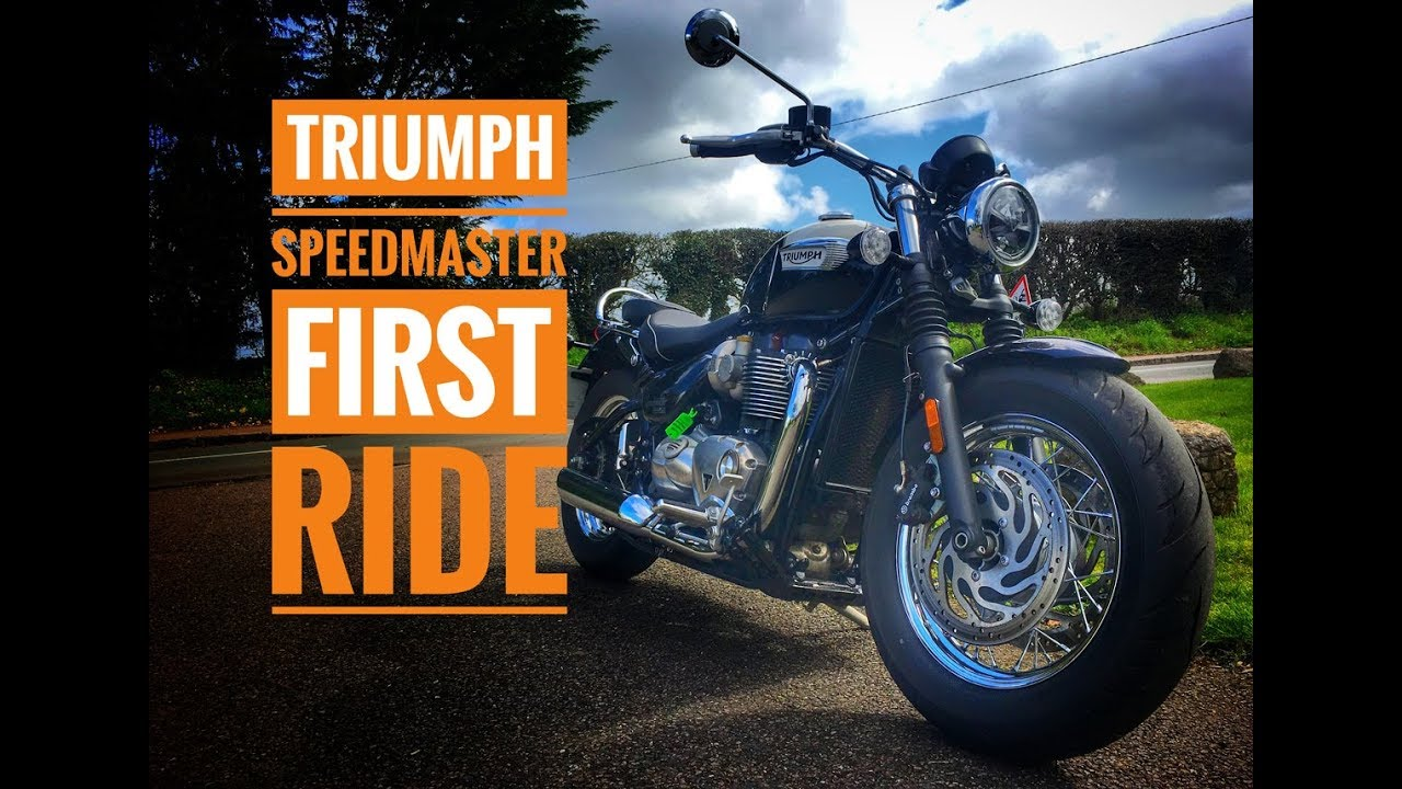 2018 Triumph Speedmaster Review Youtube
