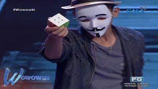 Wowowin: Nakamamanghang Rubik's Cube magician sa 'Will to Win'