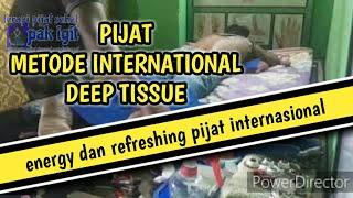Pijat deep tissue - teknik dasar pijat tradisional indonesia