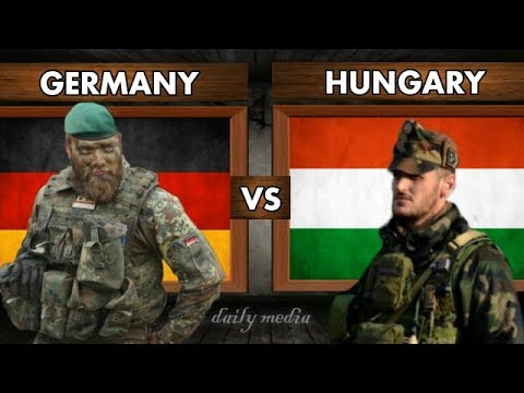 Germany vs Hungary - Miltiary Power Comparison 2017 (Latest Updates)