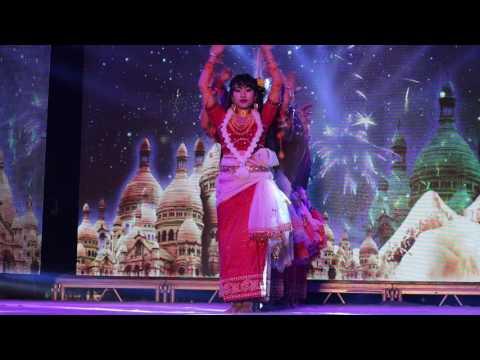 Indian Manipuri fusion dance, 2016.