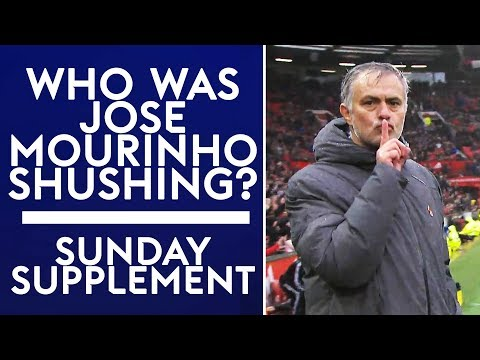 Who was Mourinho shushing? | Sunday Supplement | Full Show | 29th October 2017