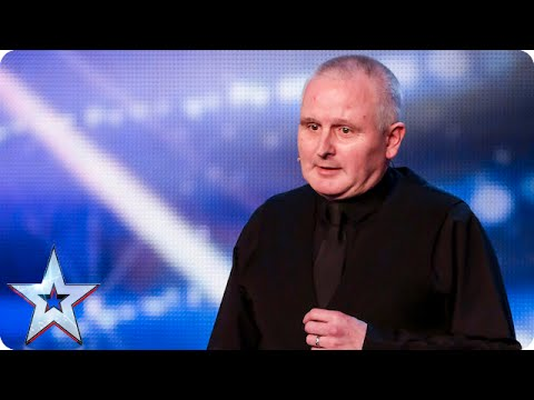 Comedian Bill Picton-Jenkins is (almost!) a laugh a minute... | Britain's Got Talent 2015