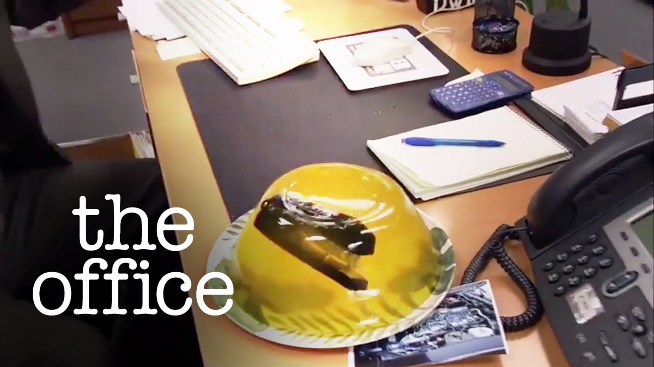 Stapler In Jello The Office Us Youtube