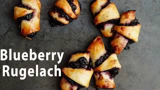 Blueberry Rugelach
