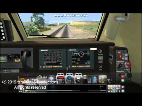 Train Simulator 2015 Series; Driving the Surfline, Part 2 (Oceanside to Irvine)