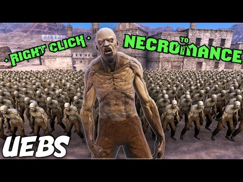 Right Click to Necromance in Ultimate Epic Battle Simulator!  (Super Zombie Virus in UEBS)