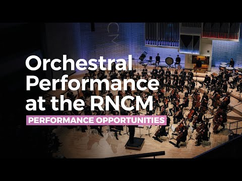 Orchestral Performance at the RNCM
