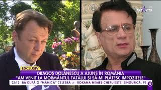 """Download Dragoş Dolănescu: """"Am venit la mormântul tatălui și să-mi plătesc impozitele"""""""