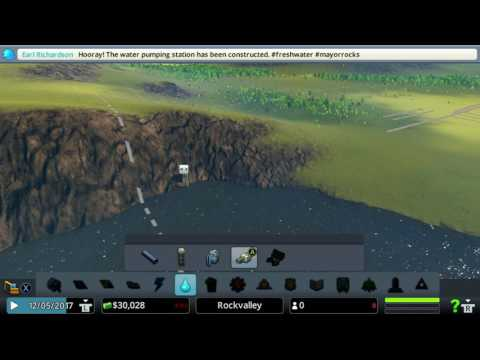 Cities Skylines xbox one edition How to build roads, sewage, water, power electricity and zone land