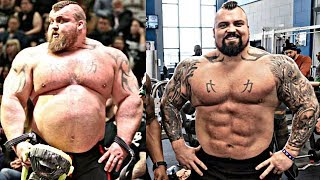 Eddie Hall breathtaking transformation 😦