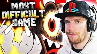 MOST DIFFICULT GAME OF THE YEAR (Cuphead Gameplay)