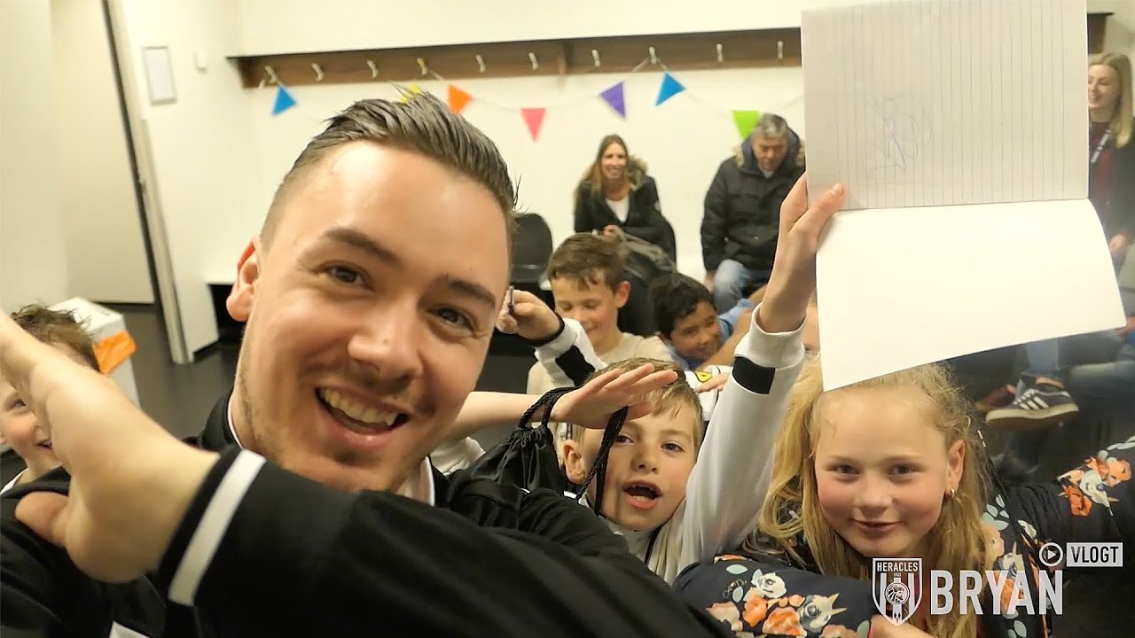 Bryan vlogt #14 | E-Divisie, kids & giveaway!
