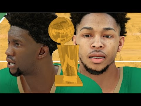 Can A Full Team Of Rookies Win A NBA Championship? NBA 2K17 Challenge