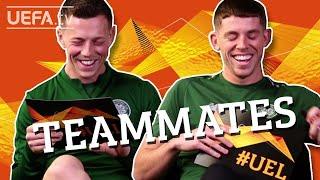 Celtic Teammates: CALLUM MCGREGOR and RYAN CHRISTIE