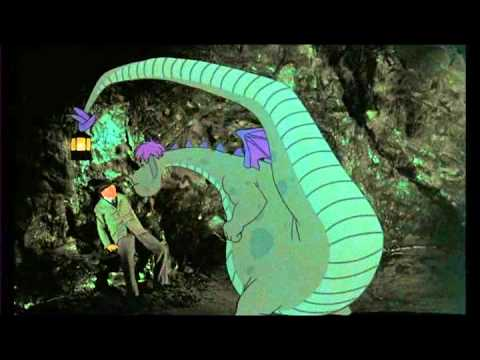 Pete's Dragon: Hoagy in Elliott's cave