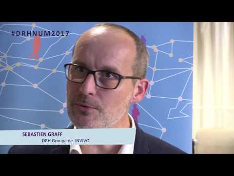 Sébastien Graff, DRH Groupe de INVIVO - Prix de la transformation numérique de la fonction RH