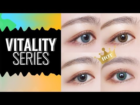 [MICROEYELENSES.COM] Vitality Series Dream Colored Contact Lenses