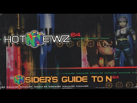 Hot Newz 64 - N Sider's Guide to N64 (1999 Promotion VHS)