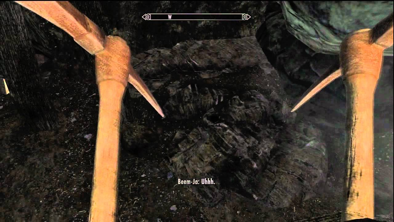Skyrim where to mine ebony ore