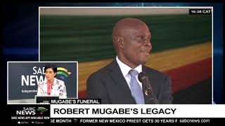 Leaders, citizens turn out for Mugabe's funeral