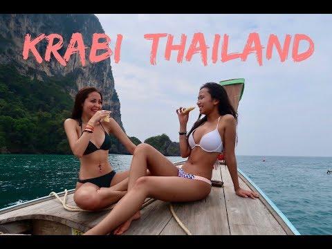 Travel Vlog : Krabi, Thailand Jan 2018 | Kharina K.
