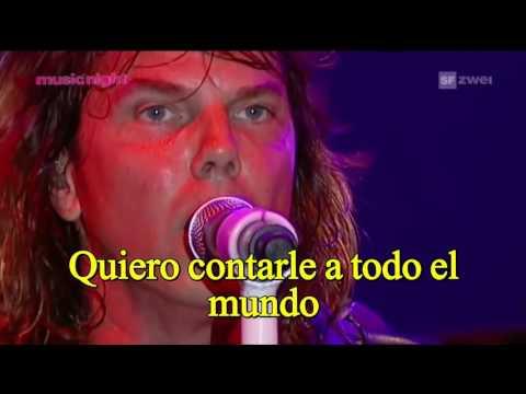 Europe New love in town live subtitulada en español