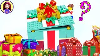 Lego Christmas Gift Box Build Review Kids Toys