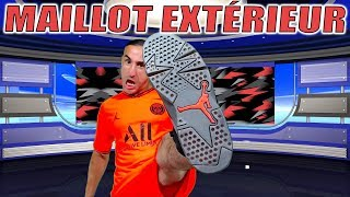 MAILLOT EXTÉRIEUR JORDAN PSG 2019-2020 / Azéd Stories