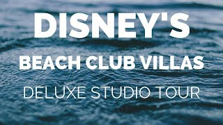 Disneys Beach Club Deluxe Studio Tour and a Food Tip!