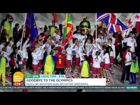 Mo Farah Talks About Winning Double Golds At Rio | Good Morning Britain