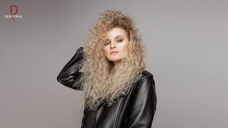 DEMETRIUS Женская стрижка на кудрявые волосы Объемная стрижка Прически на пористые волосы